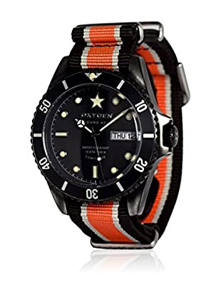 Oxygen Quarzuhr Man Diver Vintage Black Cat  42 mm