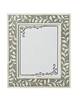 Bethel International Bone Inlaid Photo Frame (Gray)