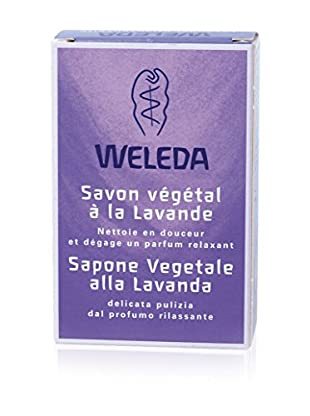 Weleda 3tlg. Set Pflanzliche Seife Lavanda (3x100 gr), Preis/100 gr: 4.98 EUR