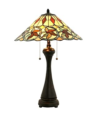 Legacy Lighting Corona Table Lamp, Crimmson Noir