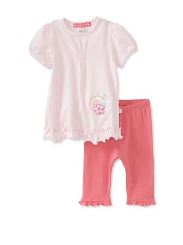KANZ Baby 2-Piece Knit Set (Pink)