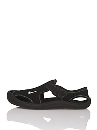 Nike Chanclas Sunray Protect (Ps) (Negro)
