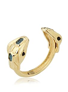Kara Ross Double Snake Lizard Cuff