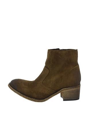 Buffalo London ES 30167 SUEDE 137969 - Botines fashion de cuero para mujer (Marrón)