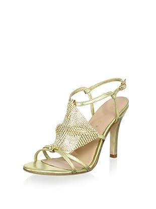 Lola Cruz Women's High Heel Sandal (Oro)