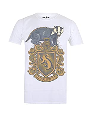 ICONIC COLLECTION - HARRY POTTER Camiseta Manga Corta Hufflepuff Badge