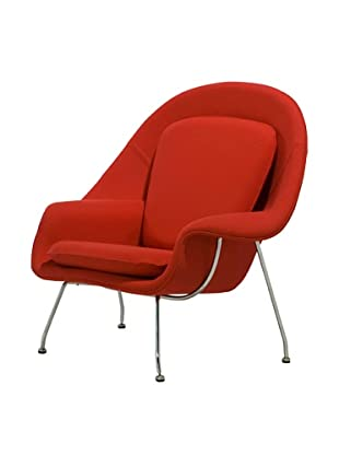 Euro Home Collection Newark Chair, Red