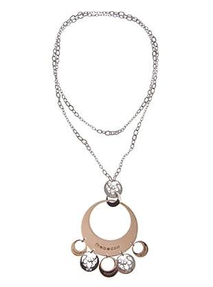 Rebecca XGRKXB59 - Collar de mujer de acero inoxidable y bronce