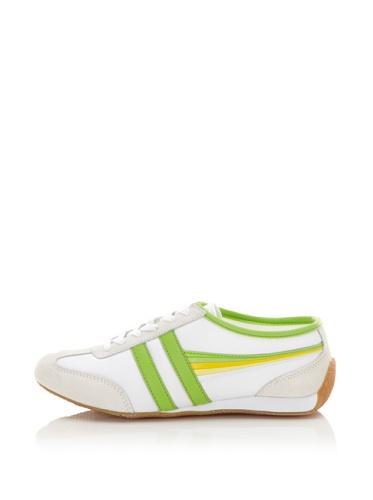 Gola Women's Raven Sneaker (White/Multi/Lime)