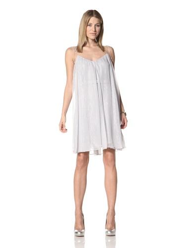 Halston Heritage Women's Fly Away Dress (Dove)