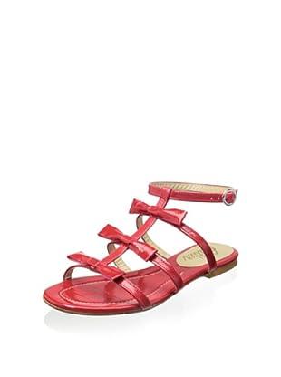 Butter Women's Amaze Gladiator Flat Sandal (Melon)