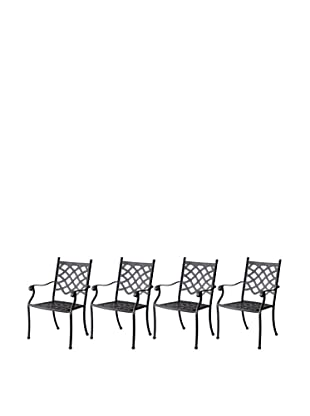 Hansen Set of 4 Provence Dining Chairs