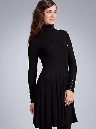 Sinequanone Vestido tablas (negro)