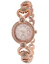 Titan Theme Raga Analog Mother of Pearl Dial Women's Watch - NB9902WM01J