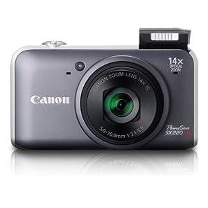 Canon PowerShot SX220 HS (Grey)