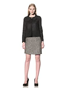 See by Chloé Women's Jacket with Seam Detail (Black)