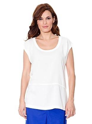 Cortefiel T-Shirt Kombiniert (Weiß)
