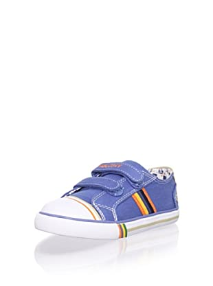 Pablosky Kid's Striped Sneaker (Jeans)
