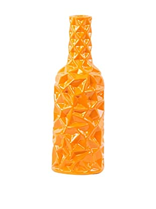 Ceramic Vase, Medium, Orange