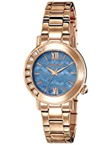 Giordano Analog Blue Dial Women's Watch - 2753-55