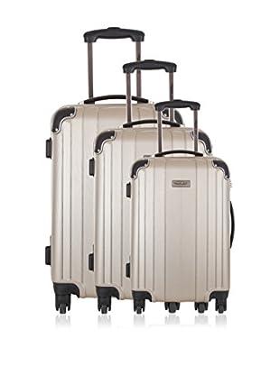 Travel ONE Set de 3 trolleys rígidos Rovigo Arena