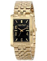 Caravelle by Bulova Dress Analog Champagne Dial Men's Watch - 44A103