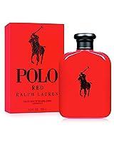 Polo Ralph Lauren Red Eau de Toilette Spray for Men, 124ml