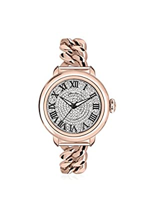 Glam Rock Women's GR77035 Bal Harbour Rose Gold Ip/Silver Stainless Steel Watch
