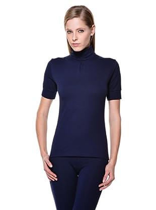 Cotonella Camiseta Cuello Alto (Azul)