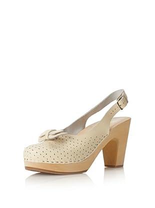 Swedish Hasbeens Women's Mimmi Slingback Sandal (Creamy White)