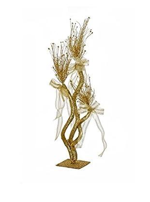Evergreens Colgante Árbol Glitter Tree Oro