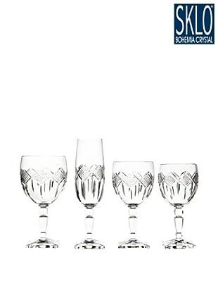 Cristal de Bohemia Cristalería 48 Piezas Miranda