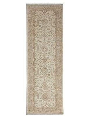 Darya Rugs Fine Oushak Oriental Rug, Ivory, 2' 8