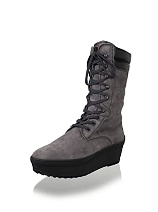 Tod's Women's Lace-Up Boot (Grey)