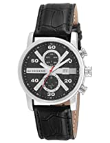 Giordano Chronograph Black Dial Men's Watch - GX1575-01