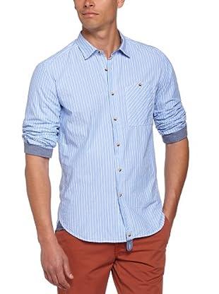 Tom Tailor Camisa Ospedaletti (Azul claro)