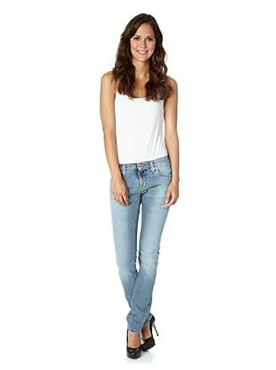 Nudie Jeans Co Jeans Tight Long John Bluegrey Denim (Blau/Grau)