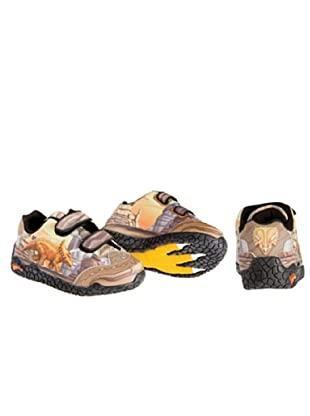 Dinosoles Dinorama Triceratops Unisex - Kinder Schuhe (Braun (Brown))