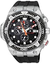 "Citizen Men's BJ2135-00E ""Promaster"" Stainless Steel Eco-Drive Dive Watch"