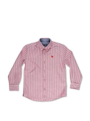 Toro Camisa Junior Oxford Rayas (Rojo)
