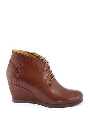Eye Shoes Botines Cordones Cuña (Cognac)