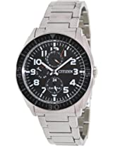 Citizen Eco-Drive Analog Black Dial Men's Watch - AP4010-54E