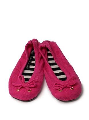 Sofia Cashmere Ballet Slipper (Pink)