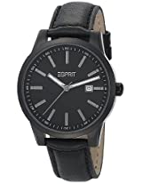 Esprit Analog Black Dial Men's Watch - ES105031003