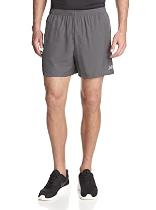 New Balance Men's 5-Inch Go 2 Shorts (Magnet)