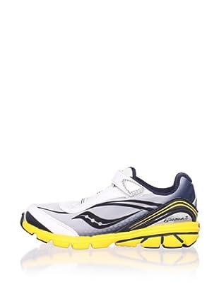 Saucony Kid's Kinvara B Running Shoe (Toddler/Little Kid/Big Kid) (Blue/Black)