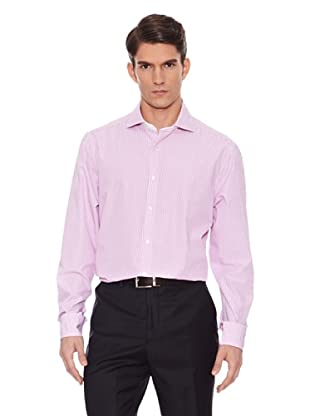 Hackett Camisa Rayas (Rosa / Blanco)