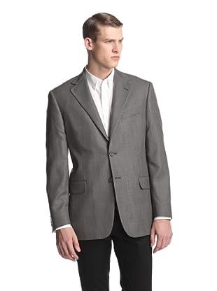 Joseph Abboud Men's Textured Sportcoat (Grey)