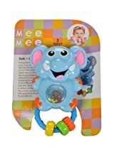 Mee Mee Baby Elephant Rattle, Multi Color