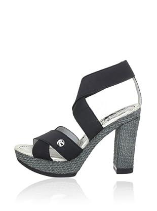 Replay Keil-Sandalette Desie (Schwarz)